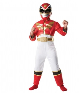 Red Power Ranger Megaforce Deluxe